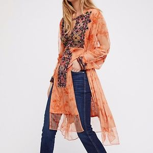 Free People Market Place Maxi Top